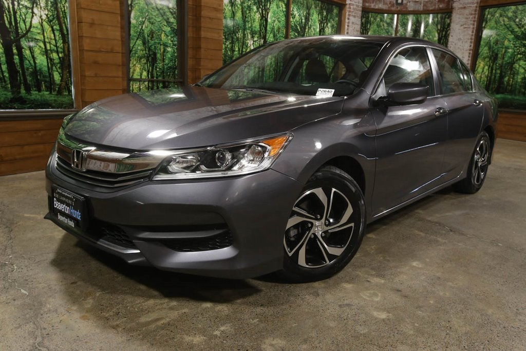 Certified Pre-Owned 2017 Honda Accord LX 1-Owner, CERTIFIED