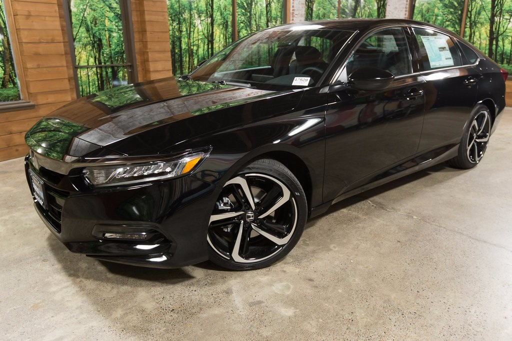 New 2018 Honda Accord Sport 4d Sedan In Beaverton 47509