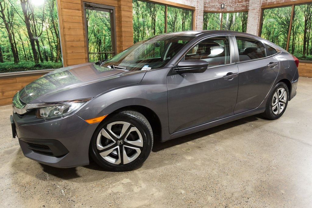 Honda Civic Certified Pre Owned >> Certified Pre Owned 2016 Honda Civic Lx