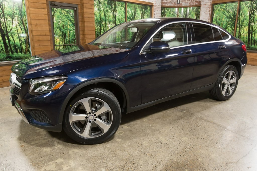 Pre-Owned 2017 Mercedes-Benz GLC GLC 300 Coupe 4MATIC®