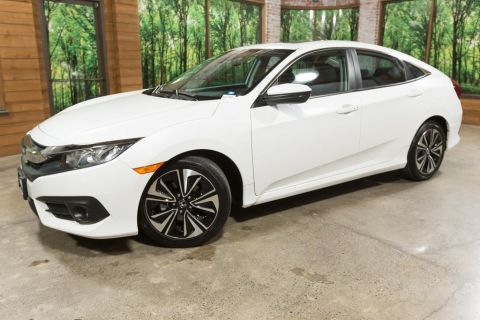 Certified Pre-Owned 2017 Honda Civic EX-T Turbo, 1-Owner, CERTIFIED