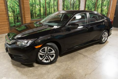 Certified Pre-Owned 2016 Honda Civic LX CERTIFIED, LOW MILEAGE!