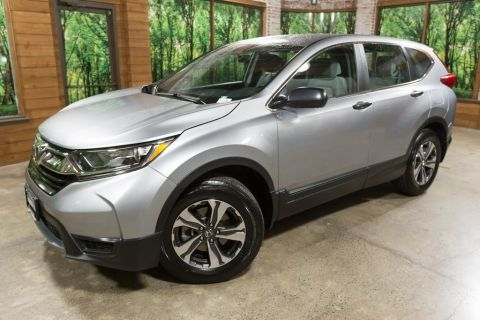 Certified Pre-Owned 2017 Honda CR-V LX 1-OWNER, CERTIFIED, WARRANTY INCLUDED