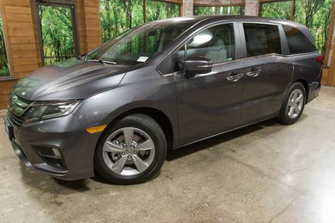 New 2019 Honda Odyssey EX-L w/Navigation and Rear Entertainment System 9AT