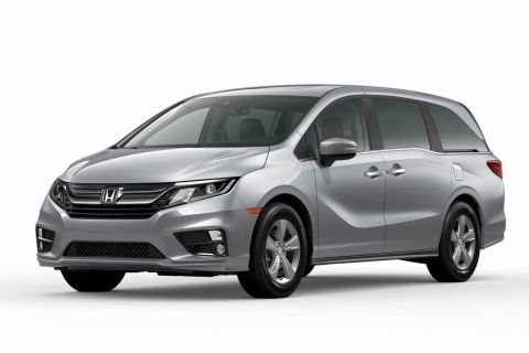 New 2020 Honda Odyssey EX-L w/Navigation and Rear Entertainment System 10AT