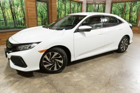 Certified Pre-Owned 2017 Honda Civic LX CERTIFIED 1-Owner Hatchback, TURBO